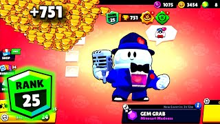 Smooth Lou NONSTOP to 751 Trophies - Brawl Stars Funny Moments #11