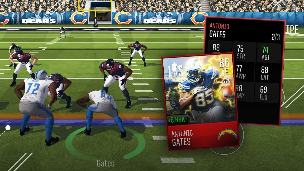 LONGSHOT CHAPTER 2 ANTONIO GATES Madden Mobile 18