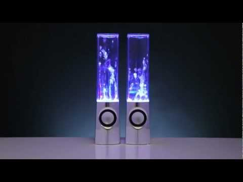 Water Dancing Speakers Exclusively from Leading Edge