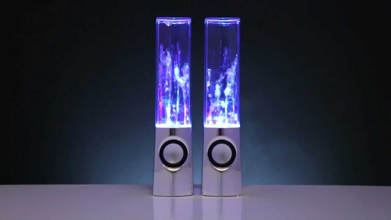 Water Dancing Speakers Exclusively From Leading Edge Youtube