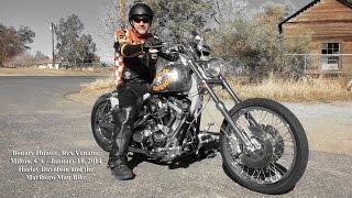 Harley Davidson Marlboro Man Bike