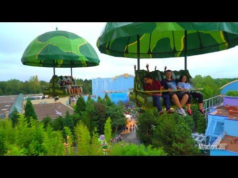 Toy Soldiers Parachute Drop Ride - Toy Story Land - Walt Disney Studios Park