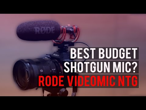 RØDE VideoMic NTG: The Budget Shotgun Mic with Pro Quality