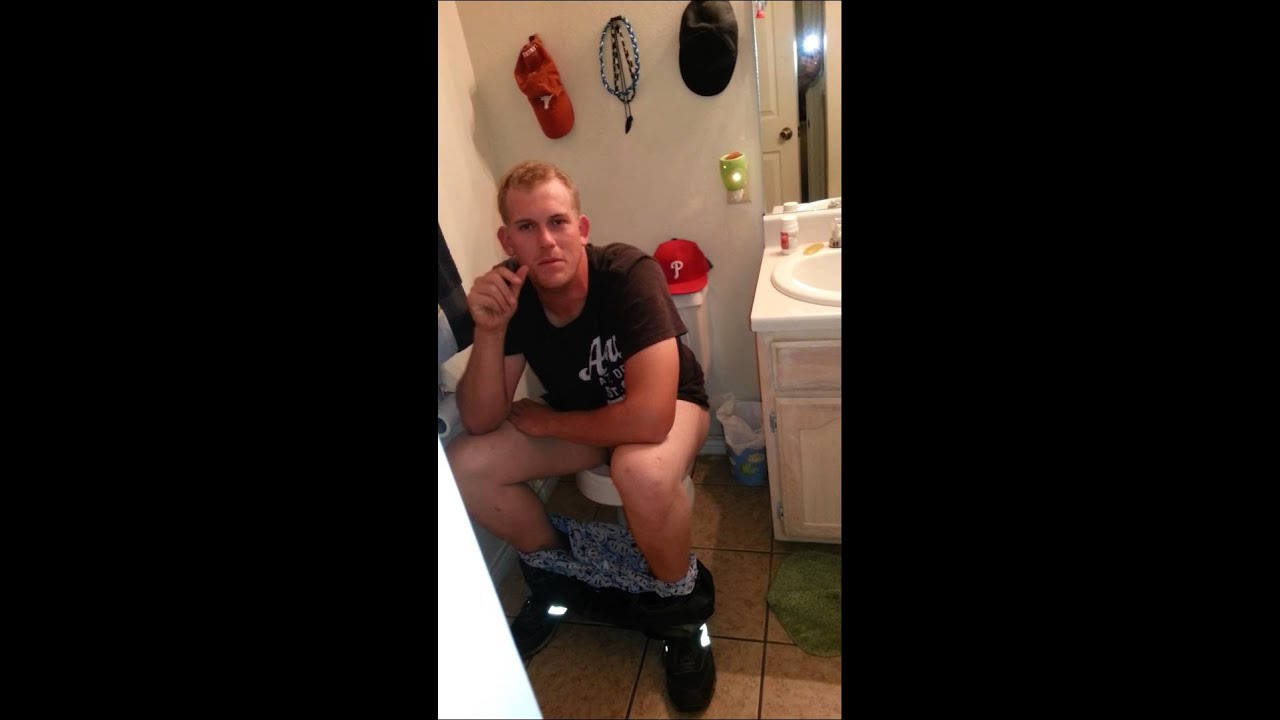 Caught taking a dump  YouTube