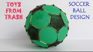 SOCCER BALL GEOMETRY | English | Explore symmetrical structure of a football