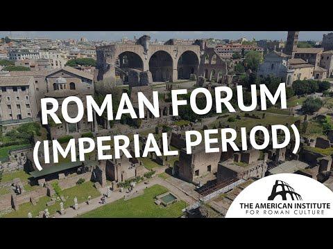 Roman Forum: The Imperial Period