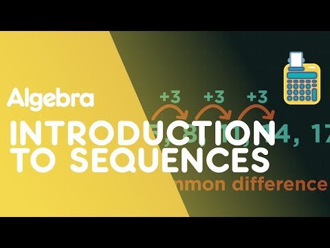 Introduction To Sequences   Algebra  Maths   FuseSchool