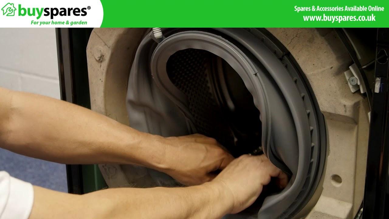 How To Replace A Bosch Washing Machine Door Seal Youtube
