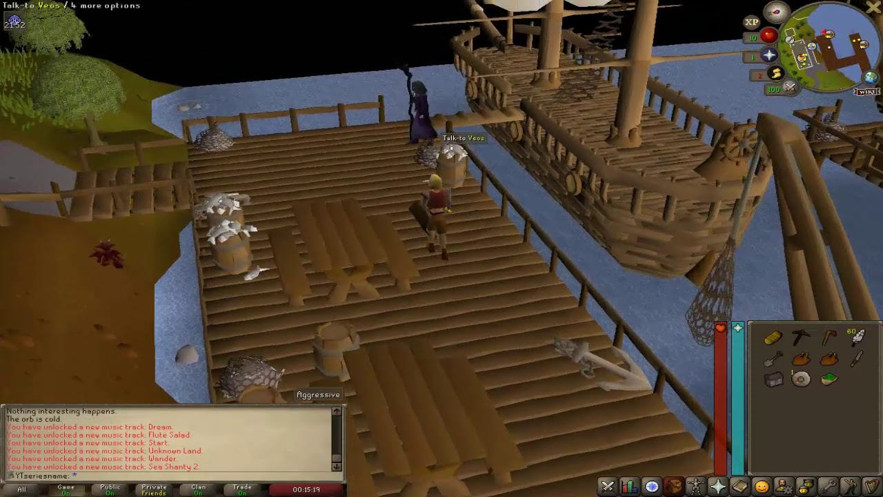 OSRS Ironman Vendorless: The Beginning of the Journey to the Air Staff Long  Title