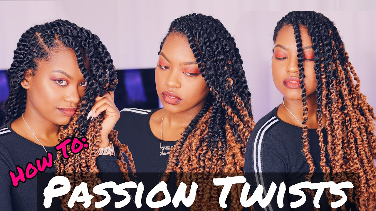 45 Gorgeous Passion Twists Hairstyles Stayglam