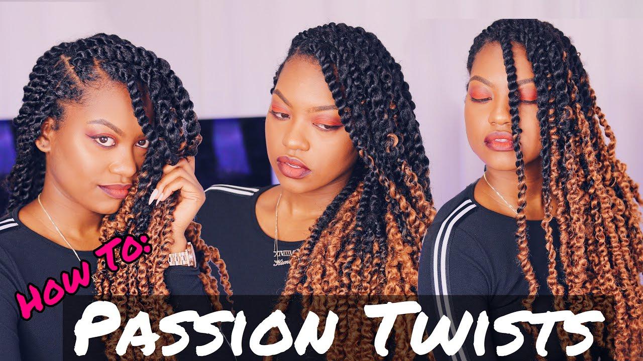 Passion Twists Tutorial Kimberlycherrell