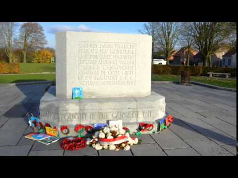 Passchendaale Memorial Belgium by Roy Kevin Holloway