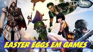 Easter Eggs em Games Especial de 10.000 Inscritos - Quasar Jogos