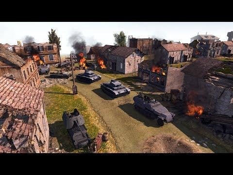 German Invasion of USSR 1941 Defensive Line   Men of War: Assault Squad 2 Gameplay