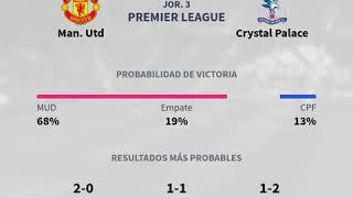 Previa Man. Utd vs Crystal Palace - Jornada 3 - Premier League 2019 - Pronósticos y horari...