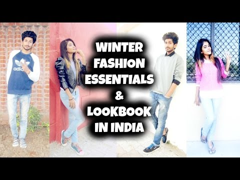 WINTER LOOKBOOK | FASHION ESSENTIALS | FOR GUYS AND GIRLS | IN INDIA