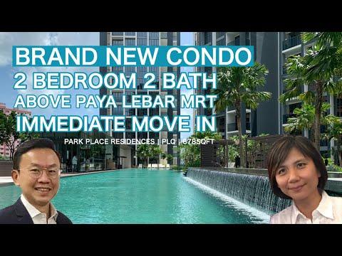 Park Place Residences 2 Bedroom Walk Through Video Singapore Condo For Rent