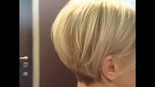 Короткая стрижка.  Окраска волос. Стилист-колорист Маргарита Сонова(, 2016-04-17T21:26:33.000Z)
