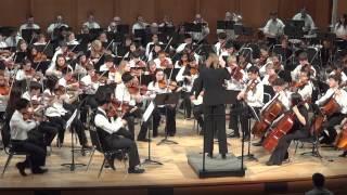 Finlandia, Op.26 No.7, by Jean Sibelius, DUSS Youth Symphony 2015