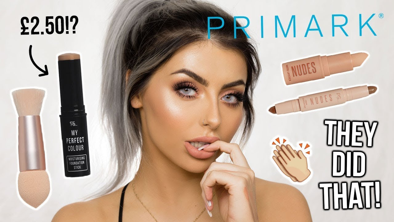 Testing New Primark Makeup Full Face Of First Impressions Kkw Dupe