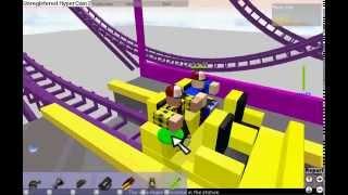 Boomerang Rollercoaster sur Roblox!!!