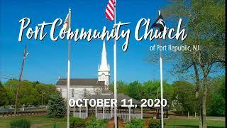 Port Community Church - 10.11.20