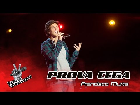 "Francisco Murta - ""Georgia on my mind""  Prova Cega  The Voice Portugal"