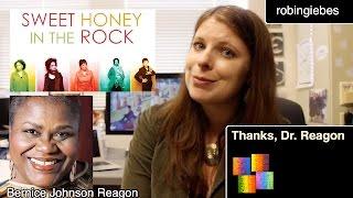 Thanks, Dr. (Bernice Johnson) Reagon