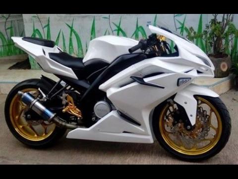 Video Modifikasi Motor Yamaha Vixion Old Fairing Keren Terbaru Part 2