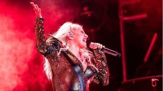 Christina Aguilera - Great Improvement! (The X Tour - Vocal Showcase - Locarno - Jul 15)