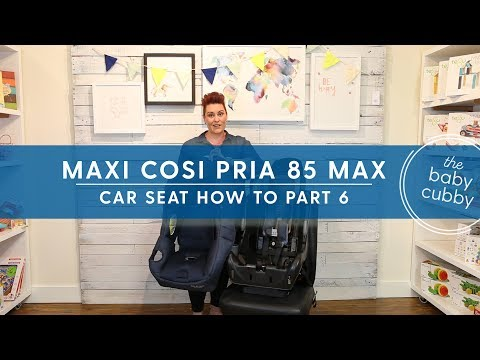PART 6: How To Remove Maxi Cosi Pria 85 Max Seat Cushions For Cleaning