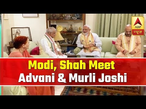 PM Modi, Amit Shah Meet LK Advani, Murli Manohar Joshi | ABP News