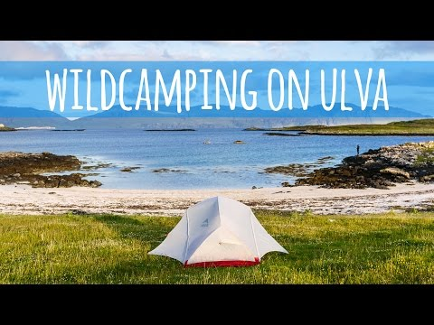 Van Life Vlog - Wildcamping on Ulva