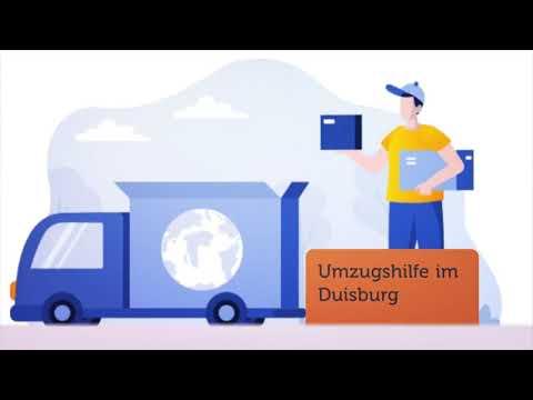 Einfach Umzugshilfe in Duisburg | 0221 – 98 88 62 58