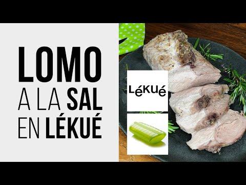 LOMO a la SAL en LÉKUÉ [Receta fácil de Cerdo] en Microondas