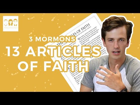 13 Things Mormons Believe