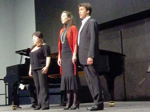 Sängerin Gundula Braum aus Mainz: Soave sia il vento ...