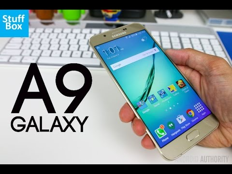 Samsung Galaxy A9 Preview!