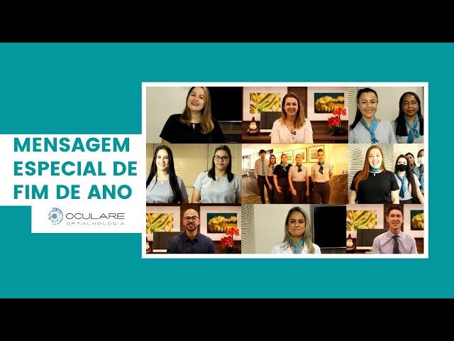 OCULARE OFTALMOLOGIA: Mensagem Especial de Fim de Ano