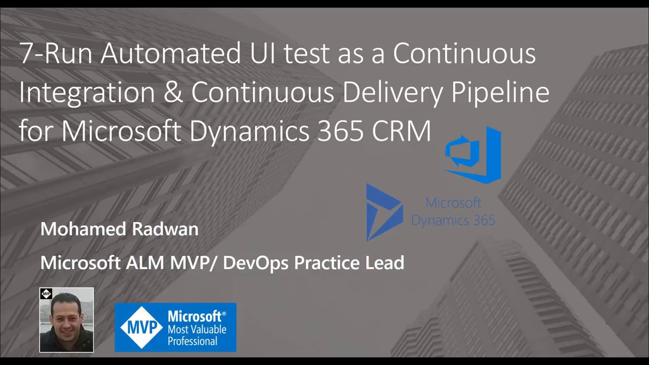 Learn DevOps and Automation DevOps for Microsoft Dynamics with Video