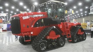 Versatile Exhibit at the 2015 National Farm Machinery Show
