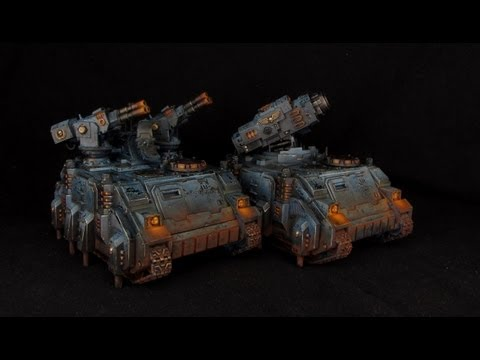 How to paint Space Marines Stalker / Hunter - Tutorial by Medows