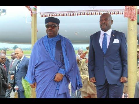 Urugendo Umukuru w'Igihugu ca Gabon yagize mu Burundi rwarerekanyeko  igihugu ari nyabagendwa