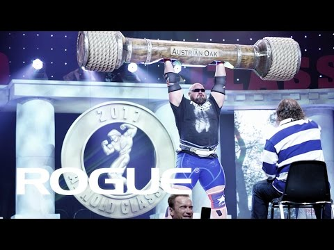 2017 Arnold Strongman Classic — The Austrian Oak / 4k