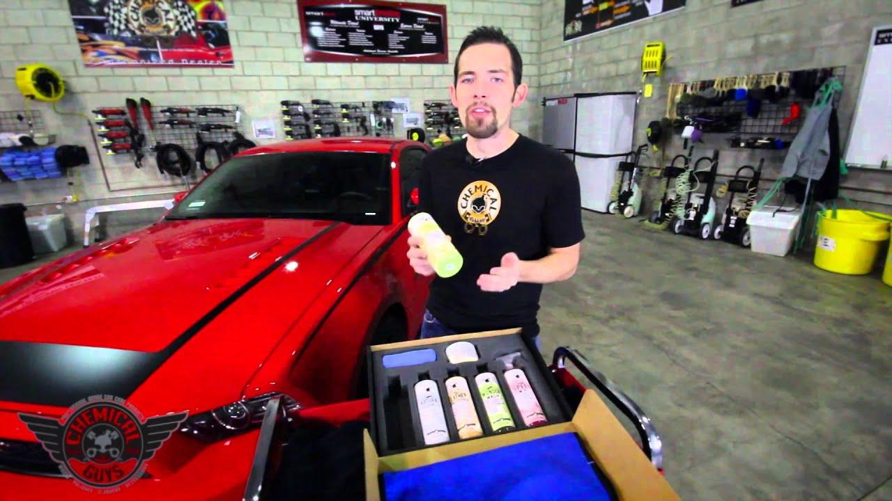 Car Detailing Kit >> Vintage Car Care Kit - Chemical Guys Detailing Car Care Best Car Wash - YouTube