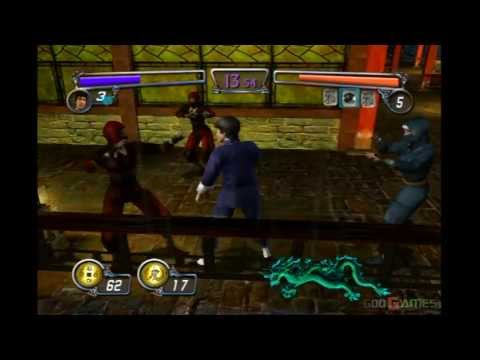 Bruce Lee: Quest of the Dragon - Gameplay Xbox (Xbox Classic)