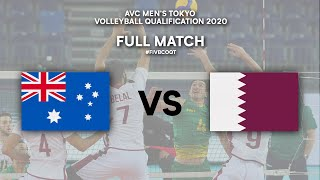 AUS vs. QAT - Full Match | AVC Men's Tokyo Volleyball Qualification 2020