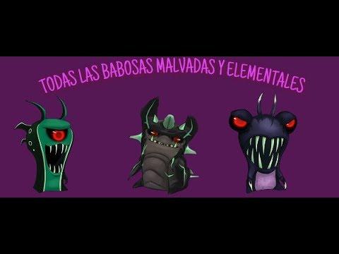 TODOS LAS BABOSAS DE BAJOTERRA MALVADAS Y CON LAS ELEMENTALES  MALVADAS/Julianstevan - Bajoterra