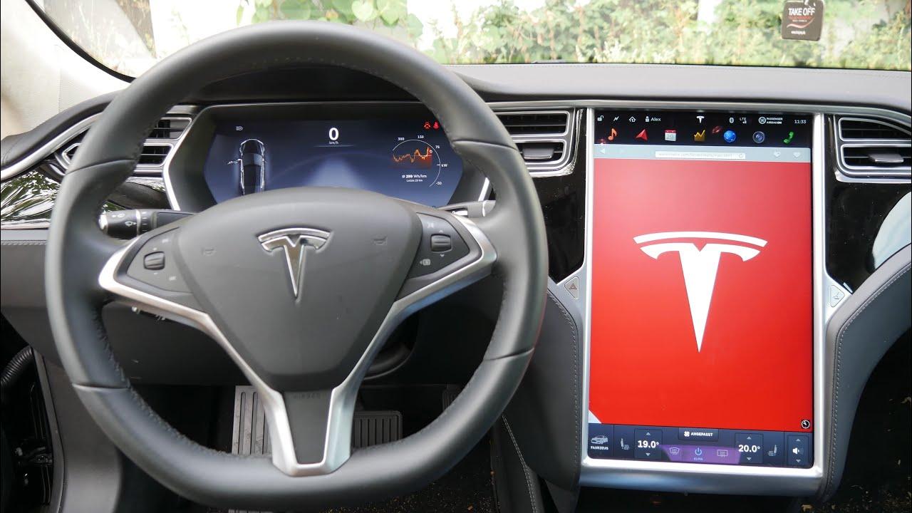 Zoll Auto Display Tesla Model S Bildschirm Erklärt YouTube - Auto display