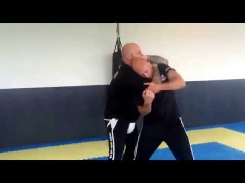 The Best Standing Rear Naked Choke Defence -Ricky Manetta - MMA Krav Maga
